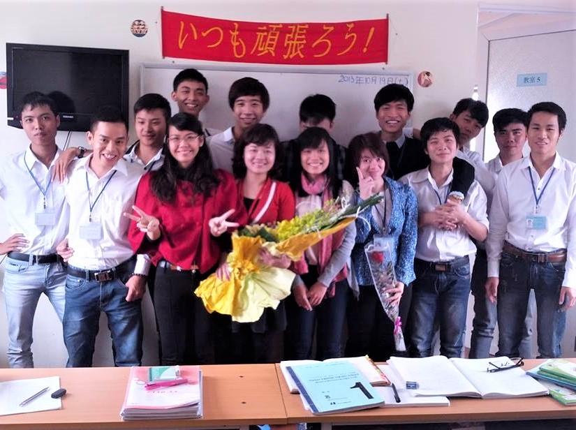 05:ハノイ hinomaru同級生と先生rev